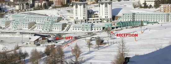 Villaggio olimpico sestriere picture of th for Villaggio olimpico