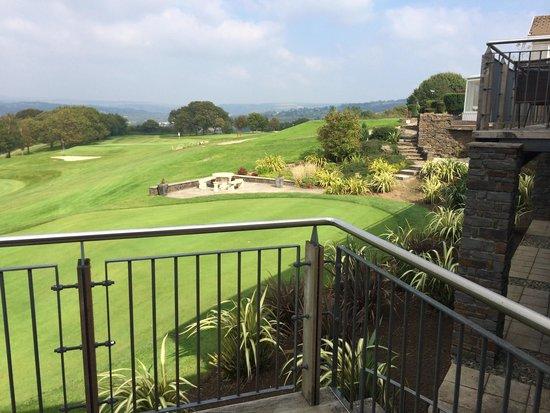 Bryn Meadows Golf, Hotel & Spa: My view from balcony room 212