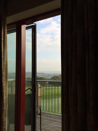 Bryn Meadows Golf, Hotel & Spa: In bed view