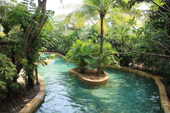Waterbom Jakarta: Peaceful ambience.