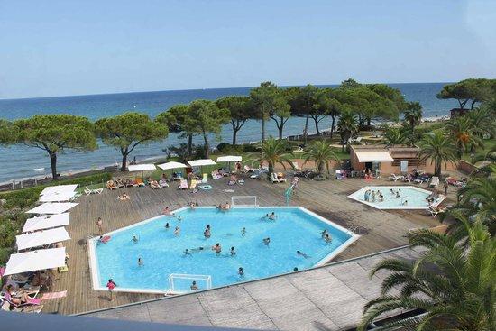 Taglio-Isolaccio, Frankreich: piscine vue de la salle de jeu