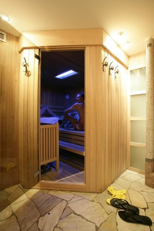 Hotel Bertelli: Sauna