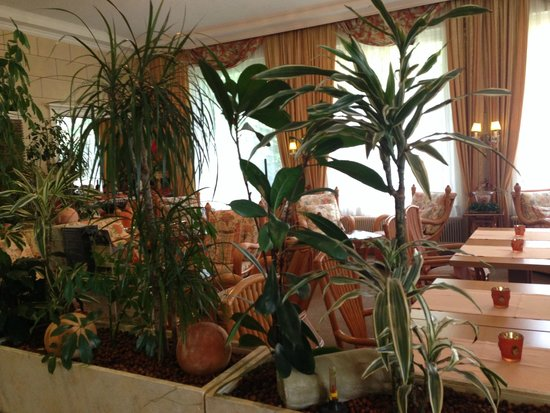 Austria Classic Schlosshotel Oth : Холл отеля на первом этаже