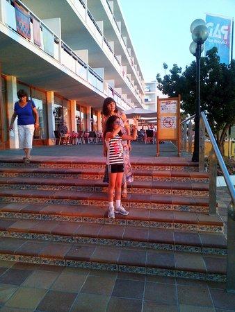 Hotel Arenal : Escadas de acesso ao hotel