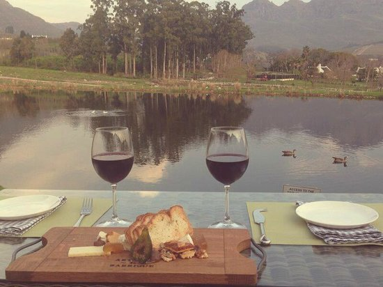 Mont Marie Restaurant: View