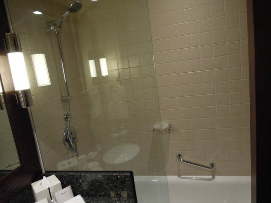 JA Ocean View Hotel: shower room