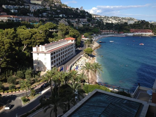 Monte-Carlo Bay & Resort: View from front facing room/roadside