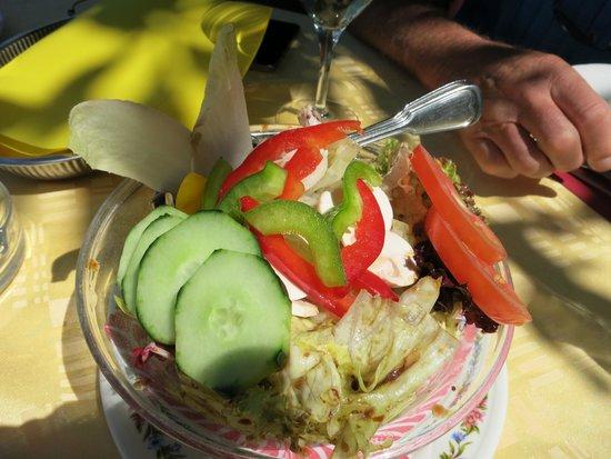 Chalet du Lac: herrlicher Salat