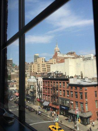 The GEM Hotel Chelsea: Blick aus dem Hotelzimmer