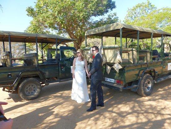 Elandela Private Game Reserve: Safari start