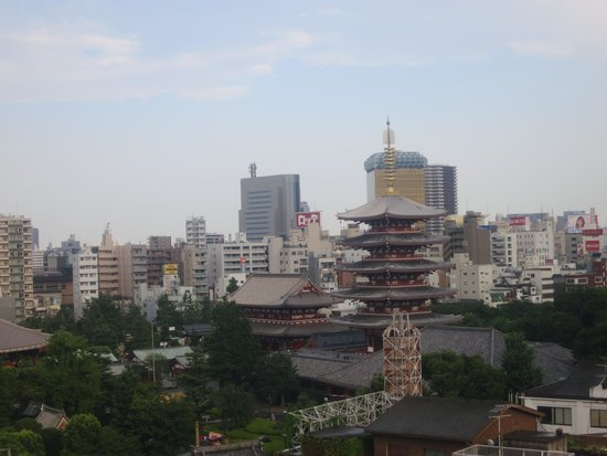 Via Inn Asakusa: view from the room