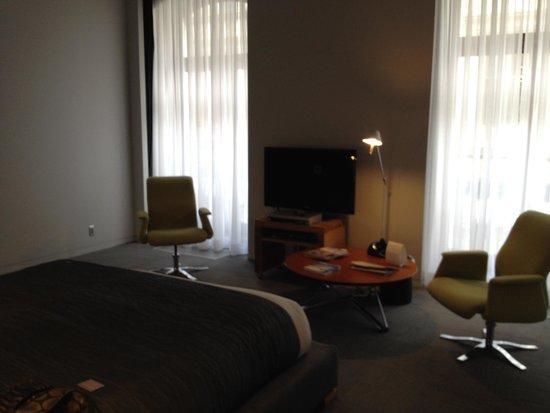 Hotel Gault: king loft room