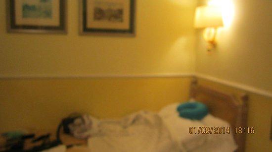Hotel Doria: chambre single