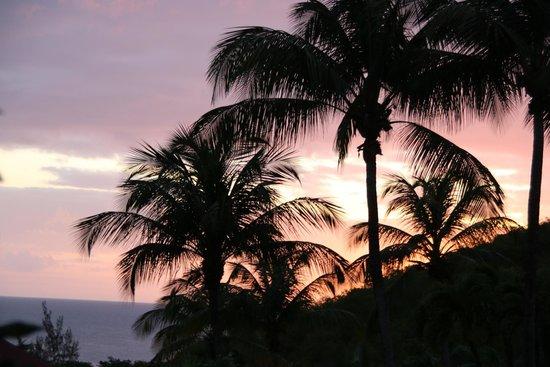 Gites Mangoplaya: Aussicht am Abend