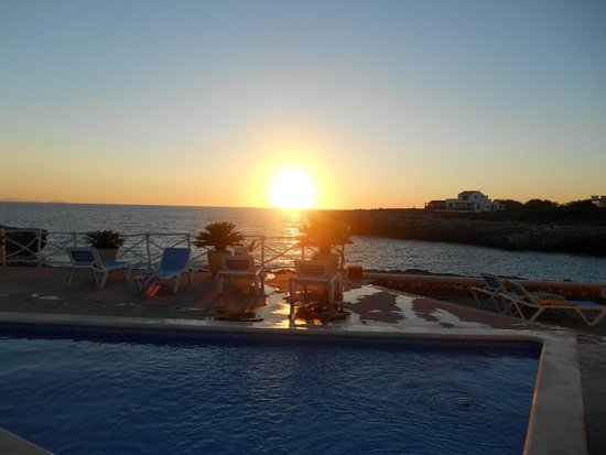 Hotel Spa Sagitario Playa: Beautiful sunset