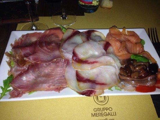 Enoteca Mulino a Vino : gran piatto di pesce