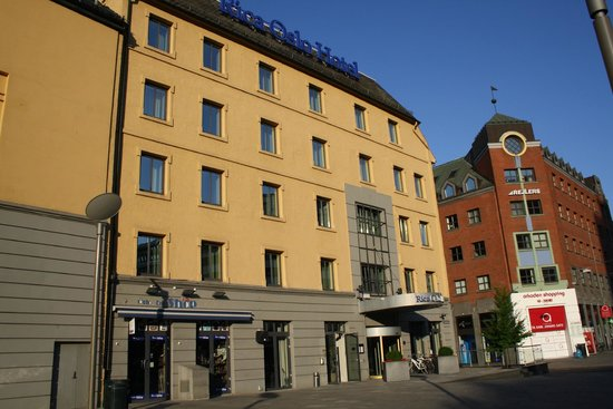 Scandic Oslo City: view of hotel