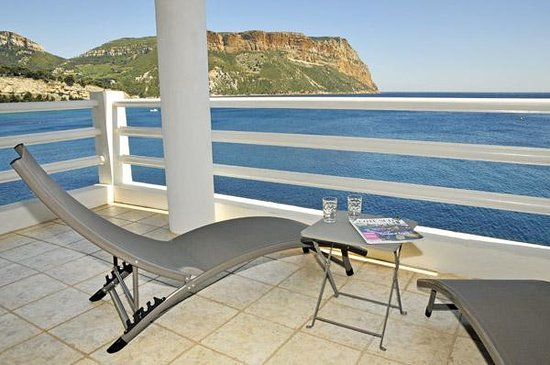 Villa Calanco: Vue terrasse ESCALE