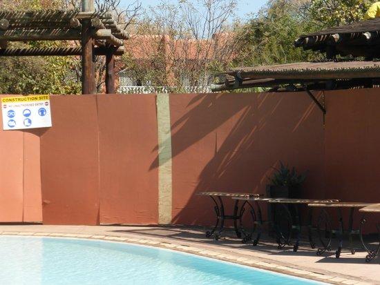 AVANI Victoria Falls Resort: building work