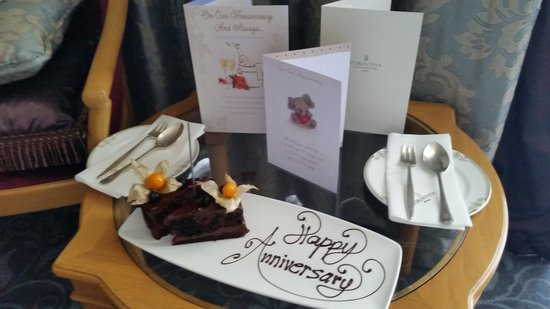 Corinthia Palace Hotel: Anniversary Surprise