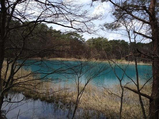 Goshikinuma Lake : BLUE