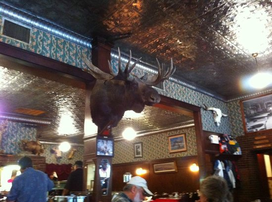 Buffalo Bill's Irma Hotel: Interno sala ristorante 2