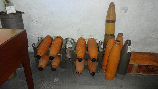 Museu Militar dos Acores: Bunker - Missili Marina