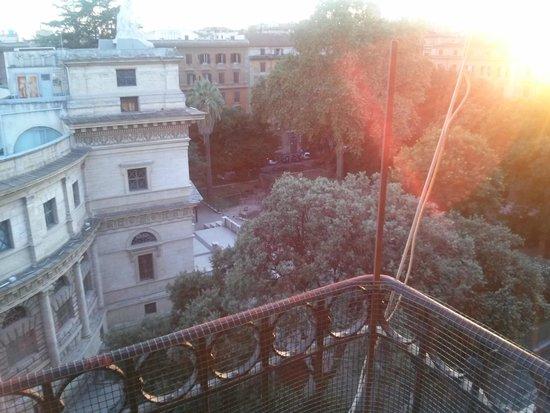 Hotel Aquarium : balcony view