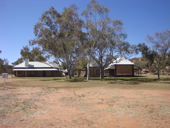 Alice Springs Telegraph Station Historical Reserve : Overland Telegraph Station