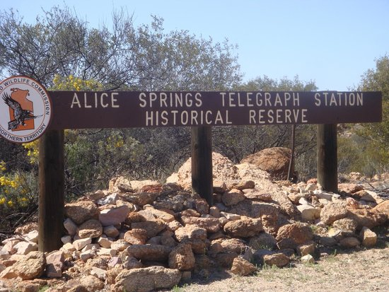 Alice Springs Telegraph Station Historical Reserve : Welcome to ASTSHR !