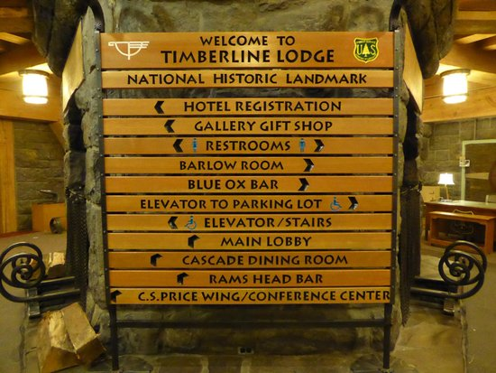 sign in lobby - Picture of Timberline Lodge - Tripadvisor