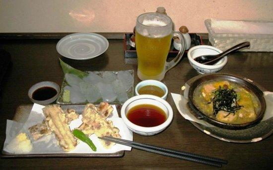 Yumori no Sato: In the onsen's cafe