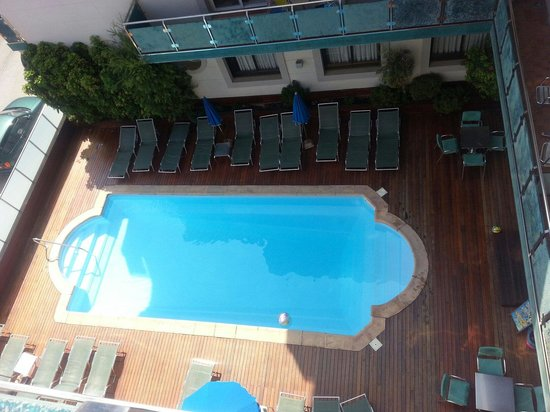 Sant Jordi Boutique Hotel : View from the balcony