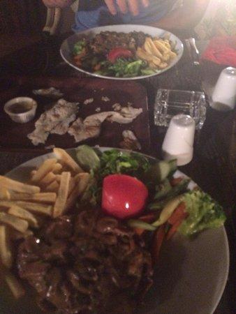 Three Palms Restaurant: Steak Diana