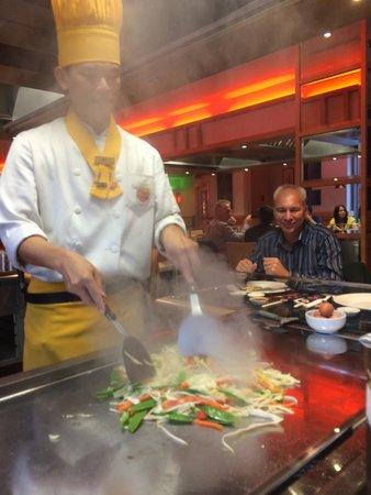 Sapporo Teppanyaki - Glasgow: Stir fry vegetables