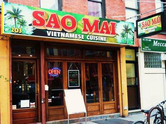 Sao Mai Vietnamese Cuisine: Front