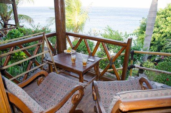 Eka Purnama Cottages : Terrace