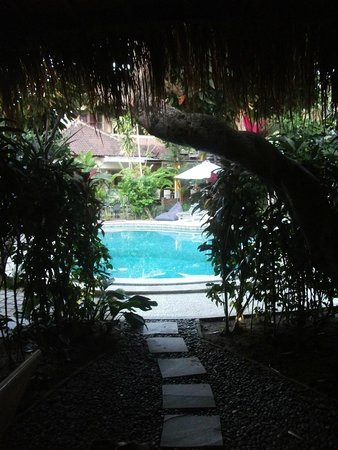 Bali Hotel Pearl: View from room