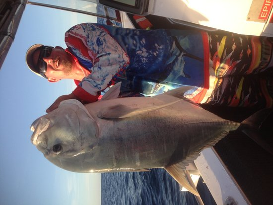 Mission Beach Charters: Monster Fish!