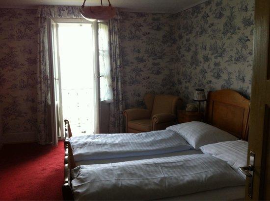 vista di parte dell 39 albergo dalla camera picture of hotel bellevue des alpes kleine scheidegg. Black Bedroom Furniture Sets. Home Design Ideas