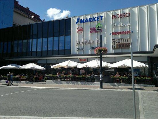 Rosso Kuopio: kesältä 2014, hieno ja iso terassi