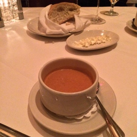 Vic & Anthony's Steakhouse - Las Vegas: Lobster bisque