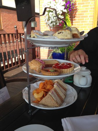 Afternoon Tea at De Rougemont Manor