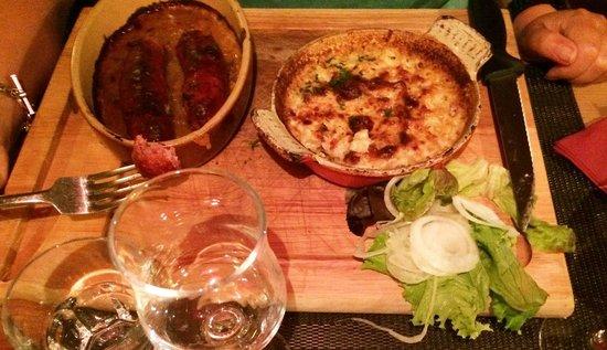 La Table a Raclette : Diots+crozes