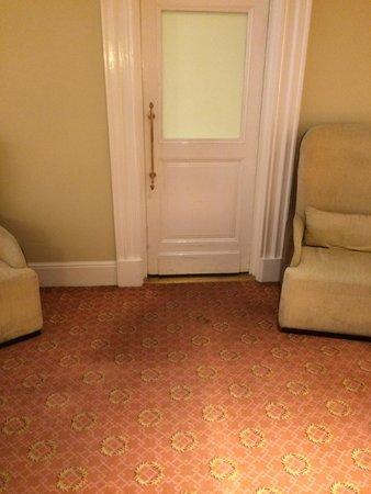 فور سيزونز هوتل مكسيكو دي. إف.: Carpet in the lobby