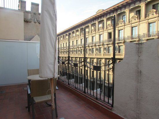 balcony picture of hotel colonial barcelona barcelona. Black Bedroom Furniture Sets. Home Design Ideas