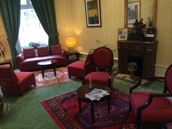 Best Western Hotel D'Angleterre: Salotto nella Hall