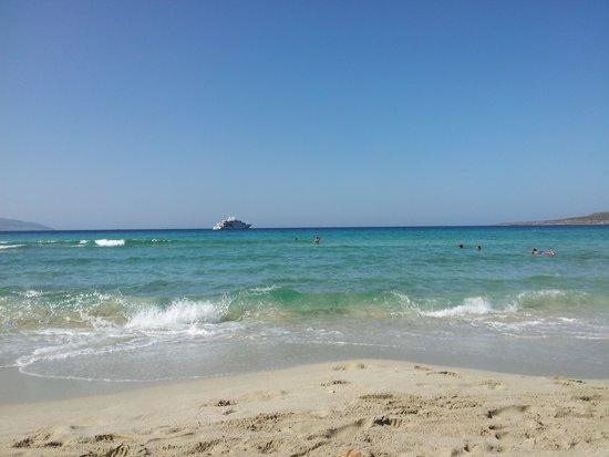 Simos Camping: Simos beach