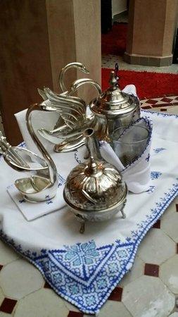 Riad Anabel: Tea