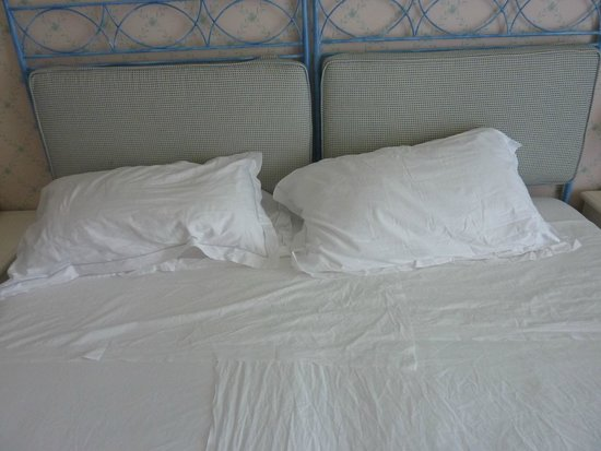 Hotel Santa Lucia Capoterra: After room cleaning